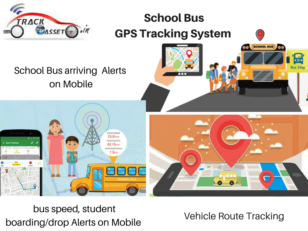 TrackMyAsset School Bus GPS Tracking System and its Features