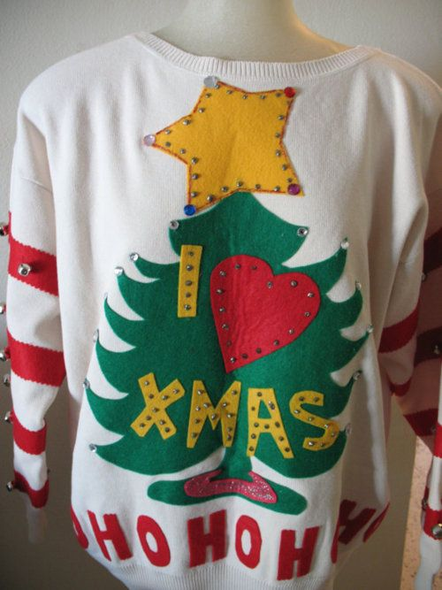 perfect ugly christmas sweater