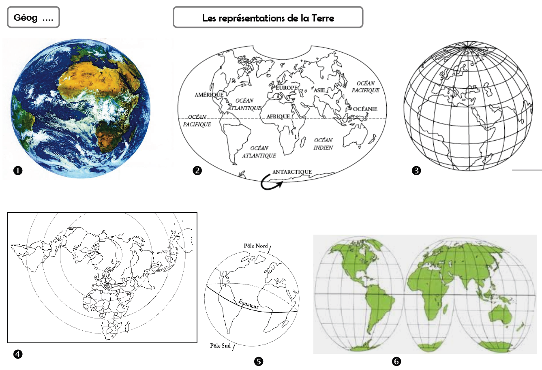 Continents et océans | Continents et océans, Géographie et ...