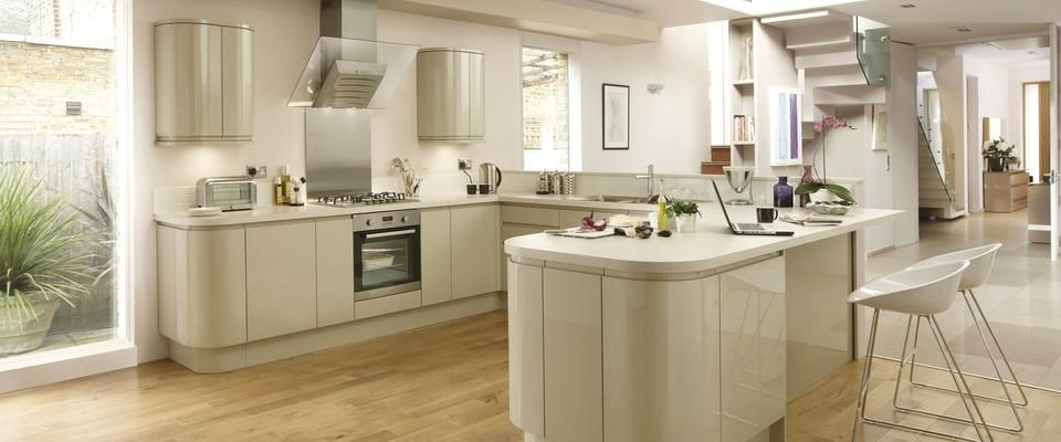 Davis Outlet Kitchens Gloss Integrated Handle Kitchen Pinterest Kitchen Ranges Joinery