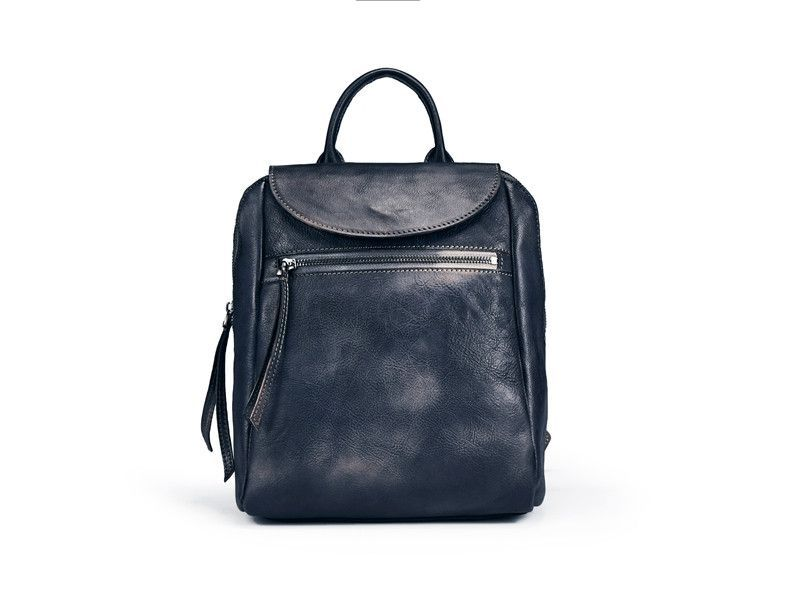 Handmade Full Grain Genuine Leather Backpack Women Backpack F85