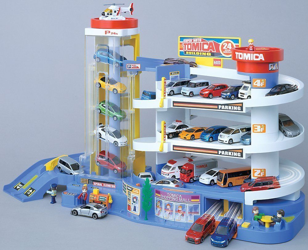 Takara Tomy Tomica City Parking from Japan