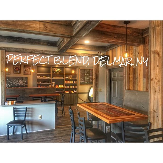 A great place to grab coffee, meet clients, or get a bite to eat - best of blueprint coffee delmar