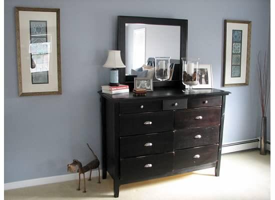 Pewter Sage Dresser Decor In Master Bedroom Dresser Decor Bedroom Dresser Decor Home Bedroom