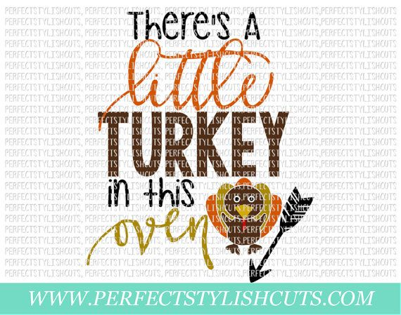 turkey in the oven svg dxf eps png files for cameo and cricut thanksgiving svg fall svg pregnant svg autumn svg turkey svg