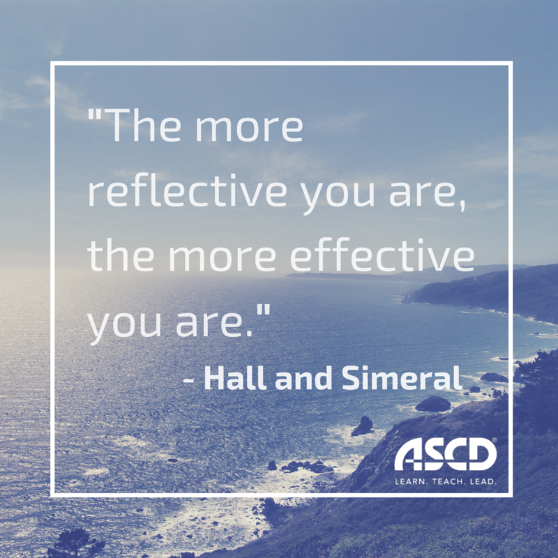 Reflection Quotes On Teachthought Pete Hall And Alisa Simeral Share 3 Steps To .