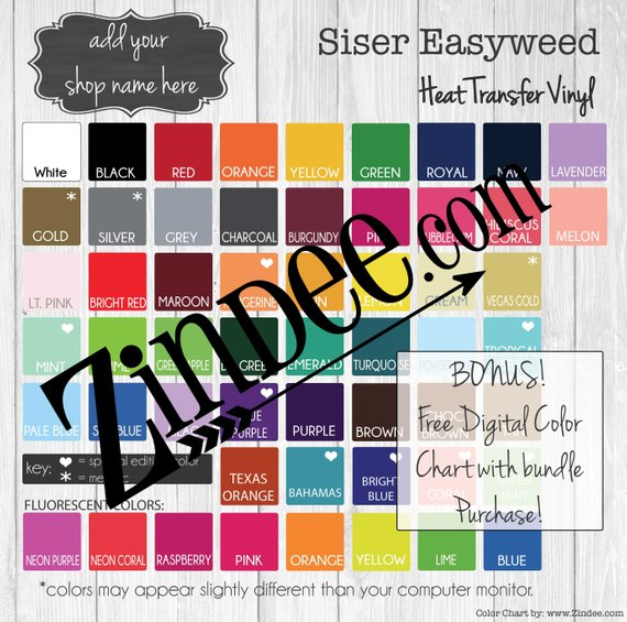 Siser Heat Transfer Vinyl Pack Of 10 12x15 Sheets Etsy Heat Transfer Vinyl Siser Easyweed Siser