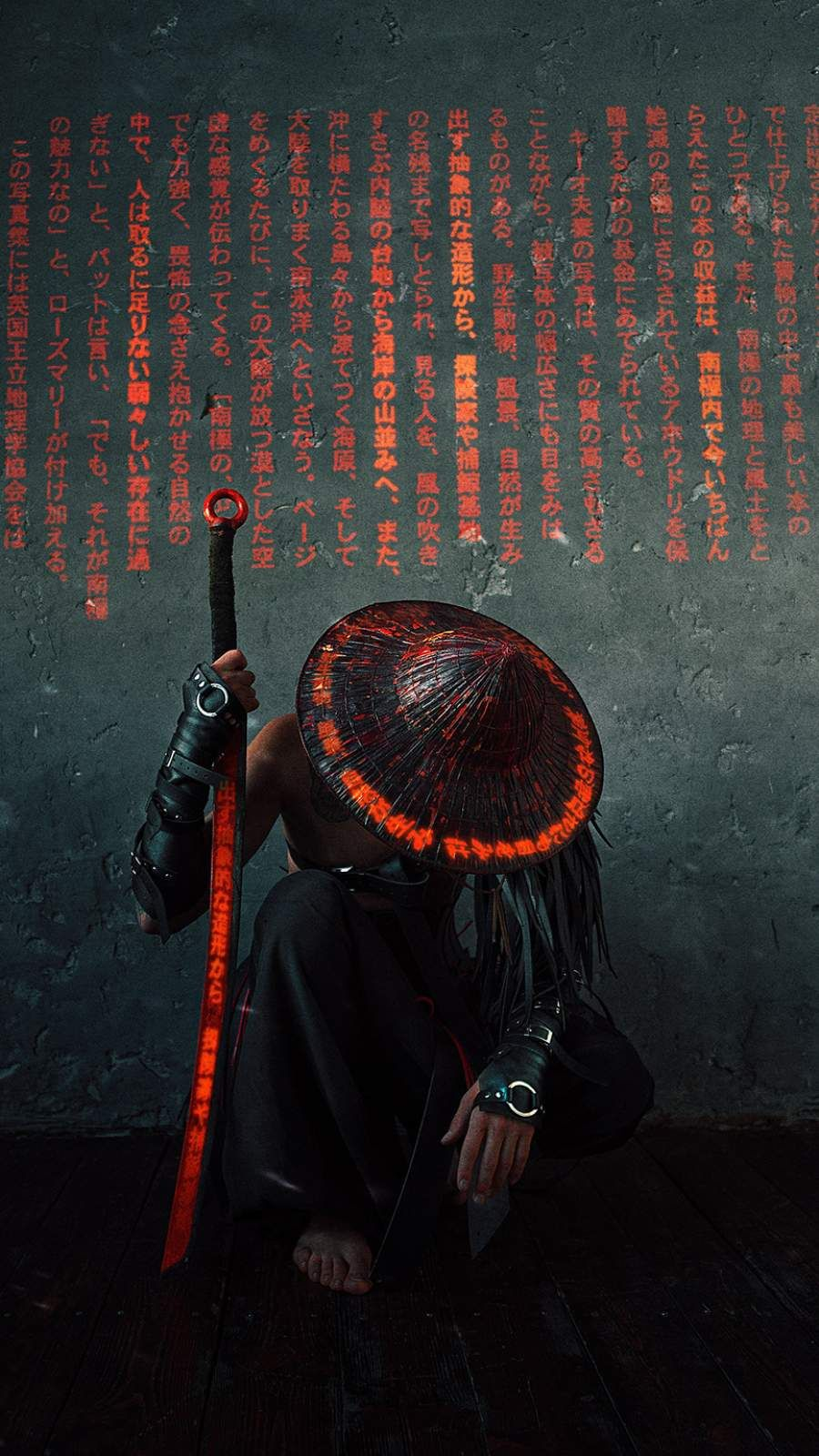 The Samurai Iphone Wallpaper Samurai Art Samurai Artwork Cyberpunk Art