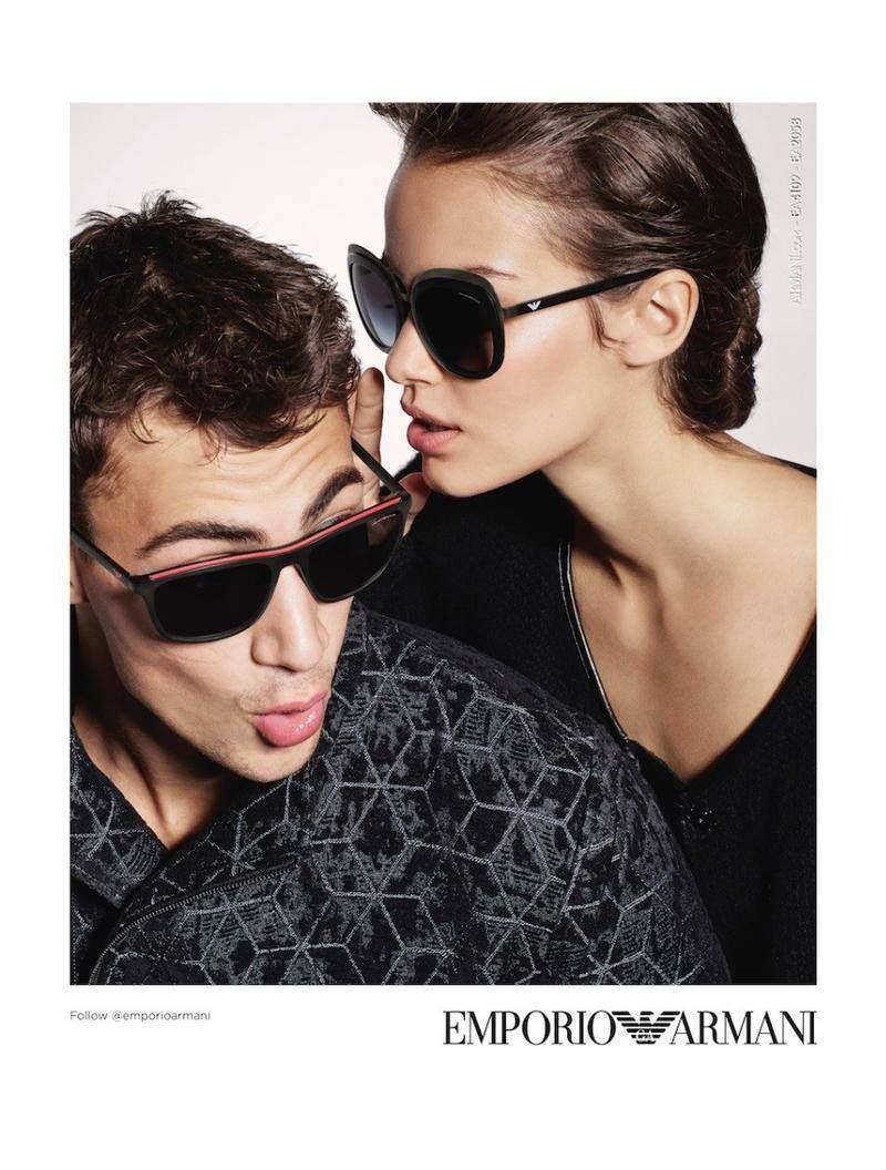 Emporio Armani Eyewear Fall/Winter 2017 Campaign   Fashion & Style ...