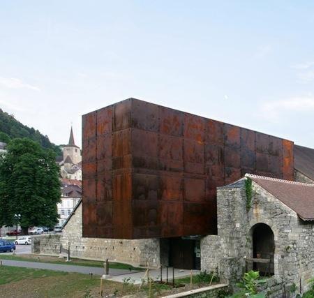 L acier corten une mati re contemporaine la ferme for Architecture contemporaine