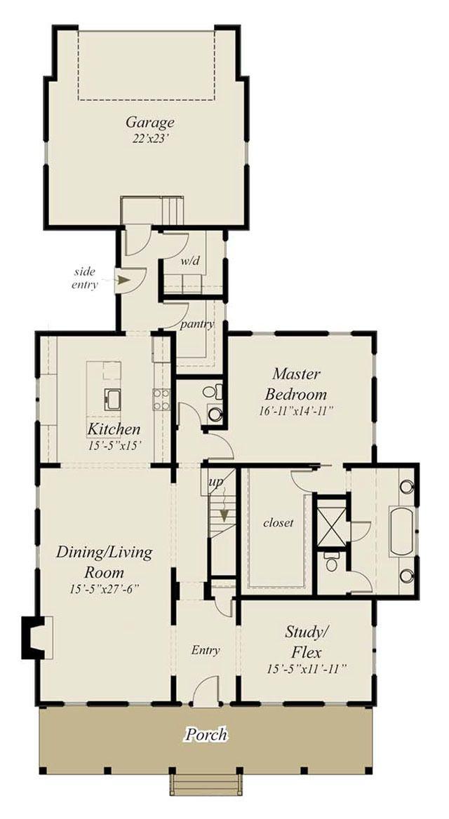 Floor Plans Master On Main