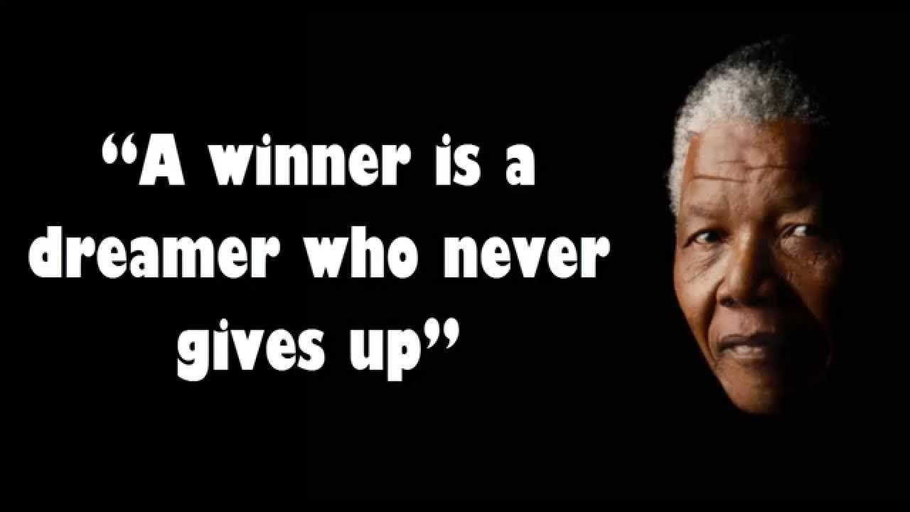 INSPIRATIONAL QUOTES BY NELSON MANDELA Mandela quotes