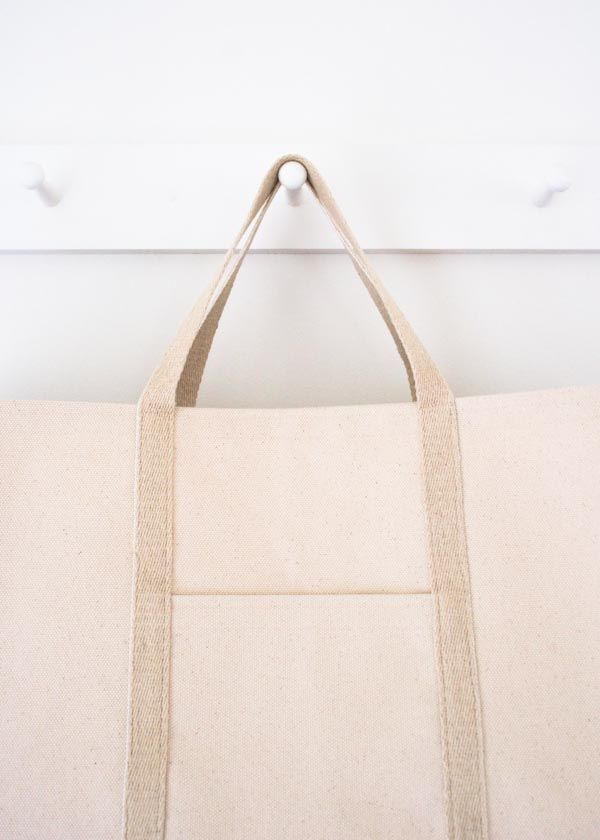 Tote Bag Pattern by Purl Soho (free) | Sacs | Pinterest | Taschen ...