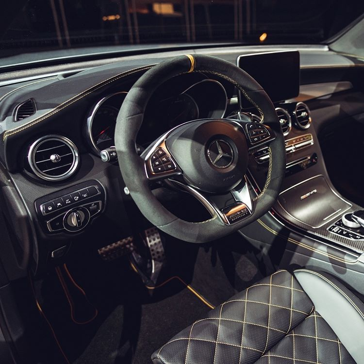 A Beauty On The Inside As Well The Mercedes Amg Glc 63 S Edition