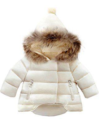 6c36c90bde30 Jojobaby Baby Boys Girls Hooded Snowsuit Winter Warm Fur Collar ...