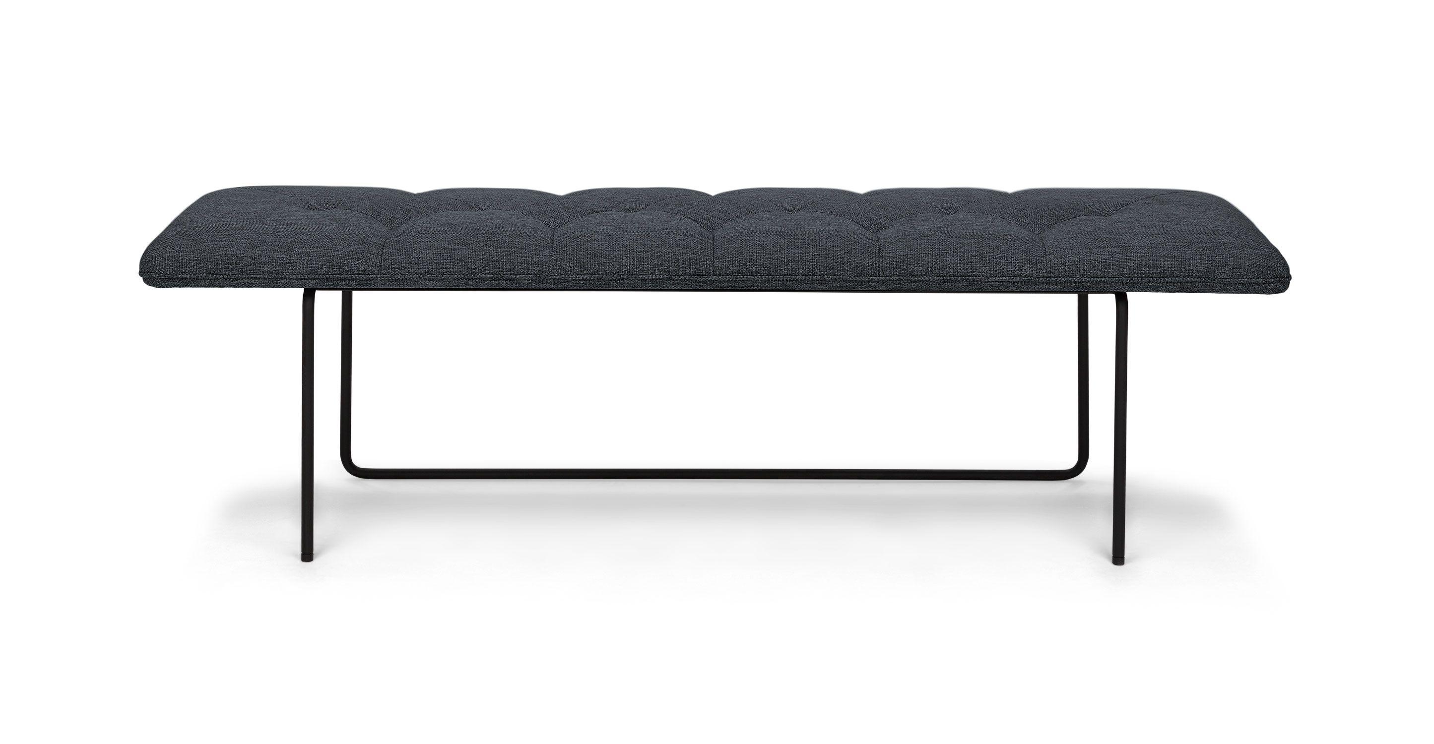 horizon bard gray bench bench scandinavian furniture and mid century