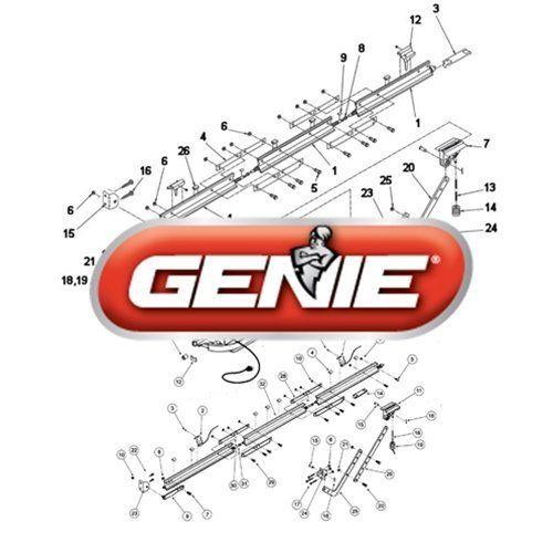 Genie 29672b3 S Stealth Garage Door Opener Fuse 3a Type T