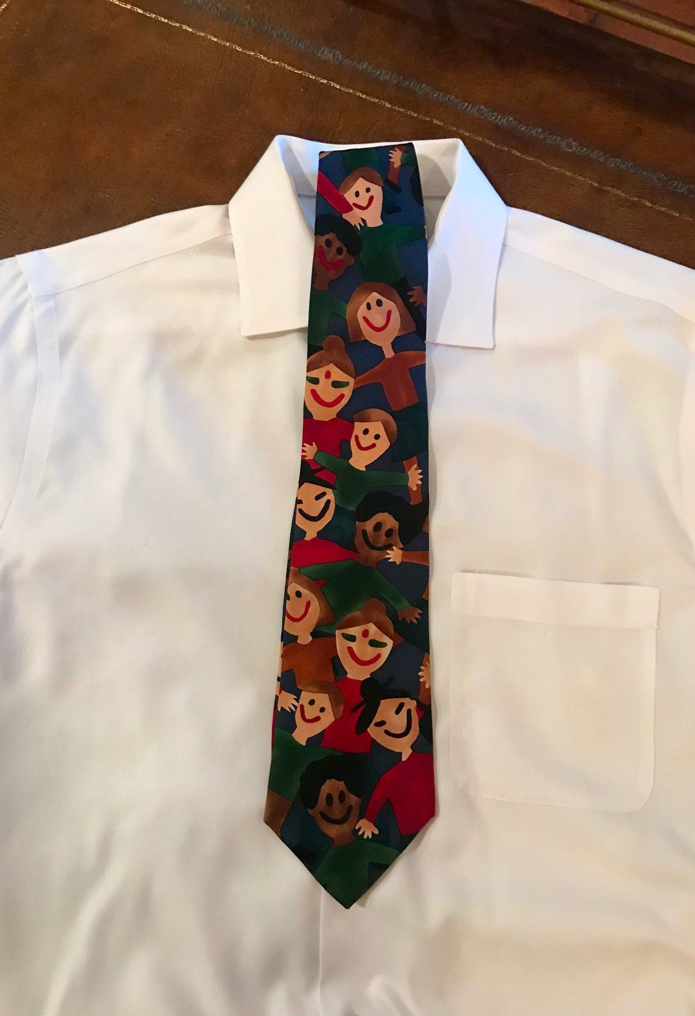 "Wonderfully Unique Silk Tie from the ""Save the Children"" Collection"