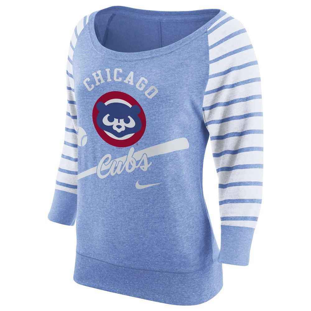Nike Chicago Cubs Women S Light Blue Cooperstown Collection Gym Vintage Sweatshirt Vintage Sweatshirt Nike Women Sweatshirts [ 1000 x 1000 Pixel ]