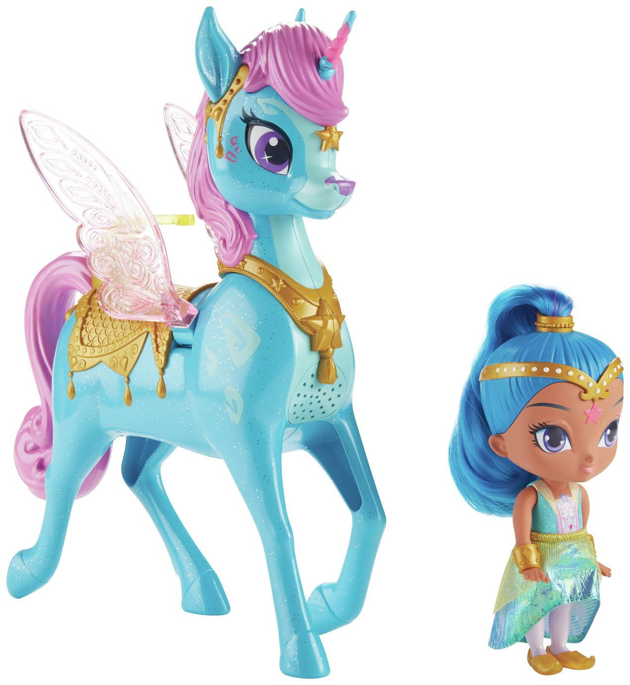 Shimmer And Shine Magical Flying Zahracorn Nickelodeon Fisher Price Shimmer Shine