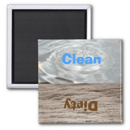 =>>Cheap          	Clean &  Dirty Water Dishwasher Magnet           	Clean &  Dirty Water Dishwasher Magnet We have the best promotion for you and if you are interested in the related item or need more information reviews from the x customer who are own of them before please follow the l...Cleck Hot Deals >>> http://www.zazzle.com/clean_dirty_water_dishwasher_magnet-147052335845385726?rf=238627982471231924&zbar=1&tc=terrest