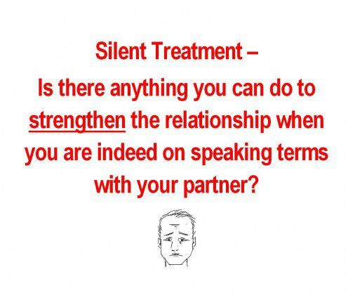 Best Way To Transaction With Silent Treatment