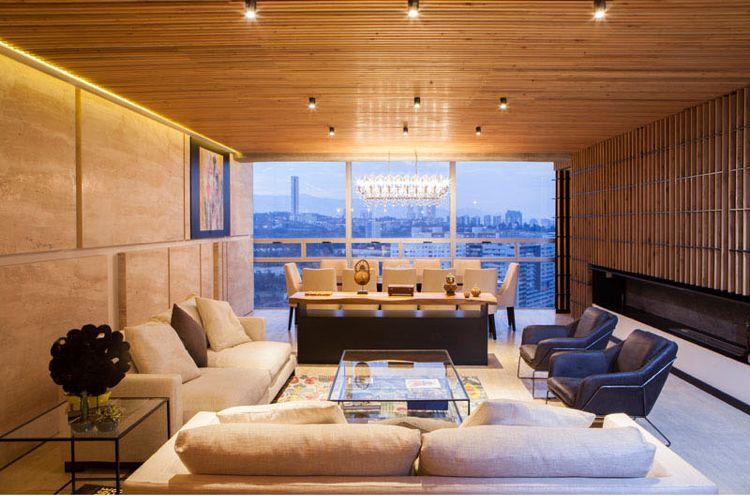 Wohnzimmer Fenster ~ Natursteinboden holz wohnzimmer fenster esstiscg couch ideen für