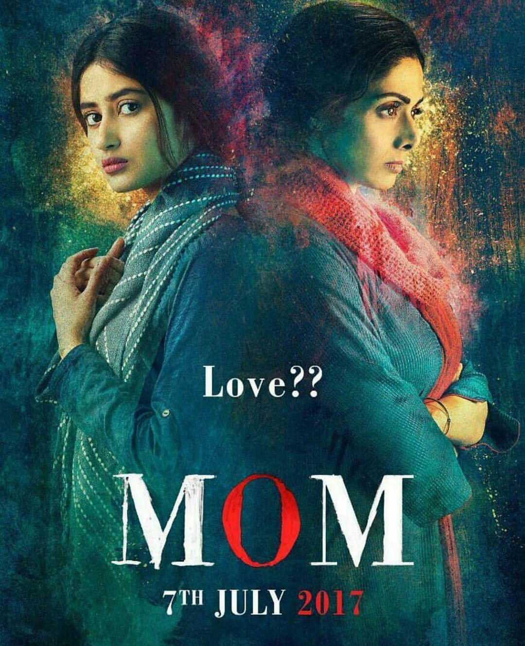 First Look at the Official Movie Poster of MOM Starring