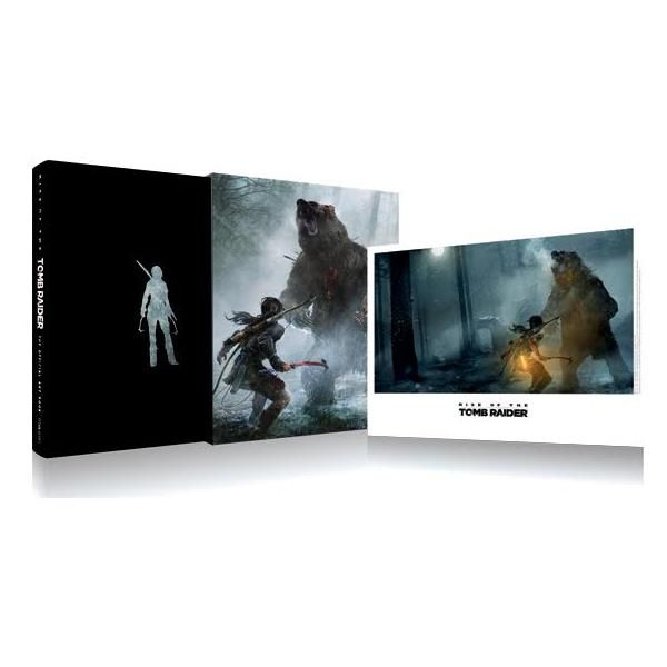 Rise Of The Tomb Raider The Official Art Book Limited Edition
