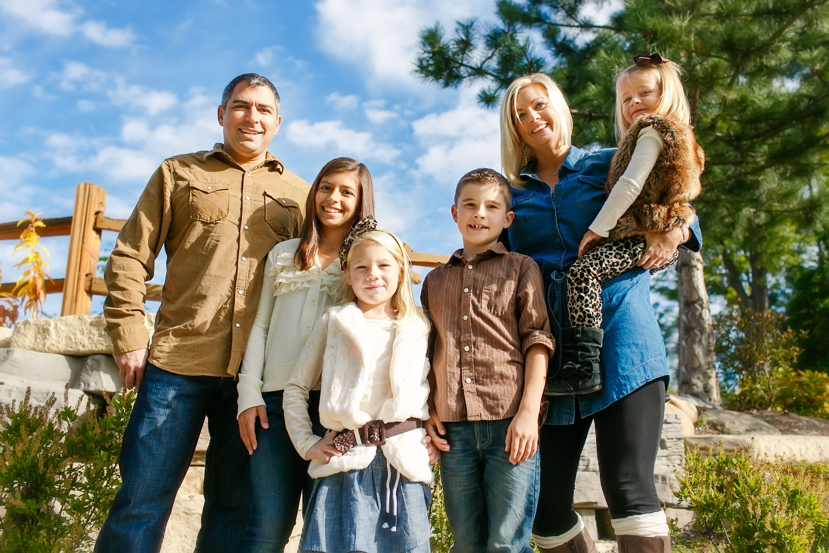 Country Family Picture Ideas
