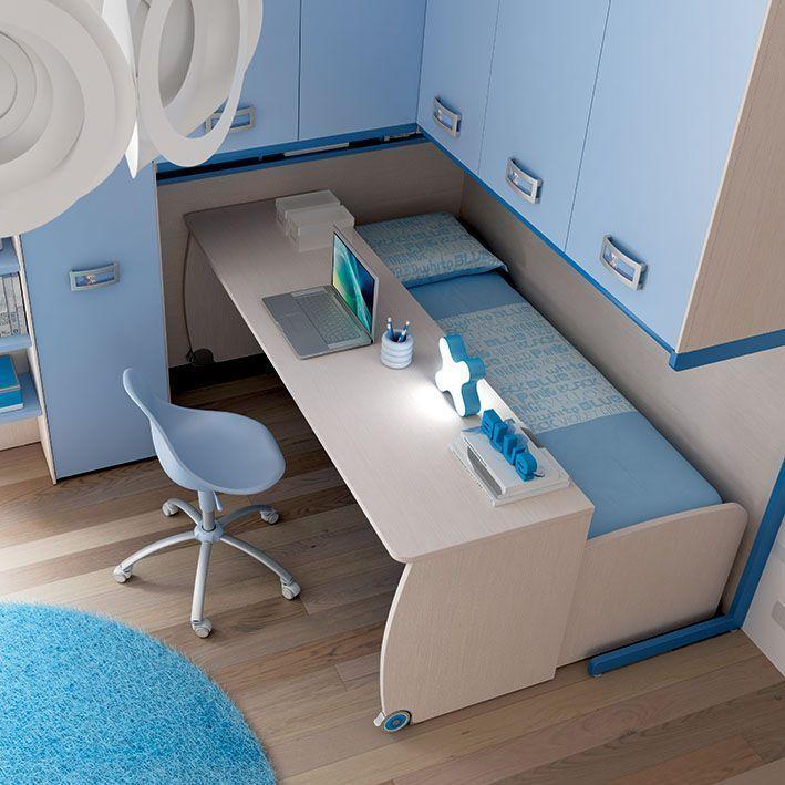 Arredamento cameretta anche la scrivania su ruote e for Ruote arredamento