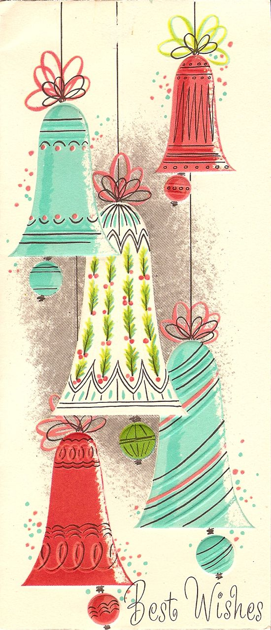Vintage Stitched Christmas Card Art - | Christmas!!! | Pinterest ...