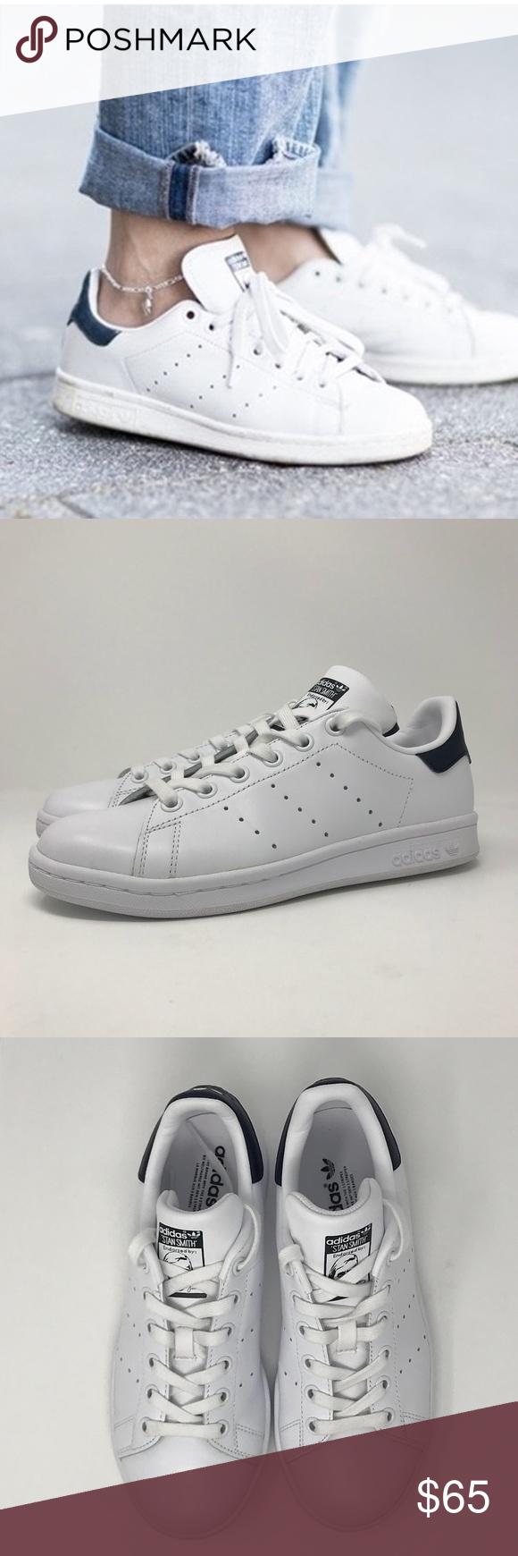Adidas Stan Smith Marina Scarpe Sz 5 Autentici Originali Adidas Stan