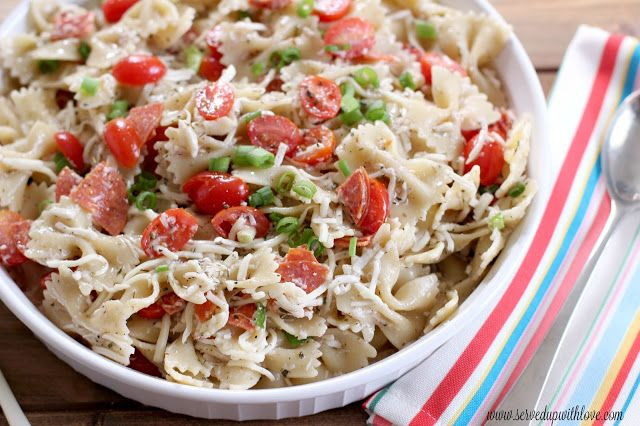 Served Up With Love: Pizza Pasta Salad