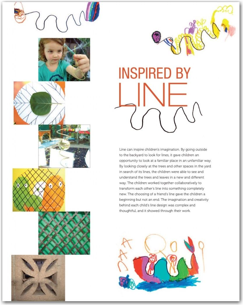 More Great Documentation On Line Reggio Inspired Classrooms