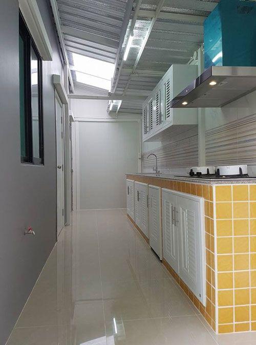 ต่อเติมหลังคาหน้าบ้านและห้องครัว แบบไม่ลงเสาเข็มด้วยวัสดุ