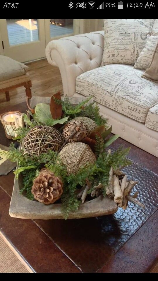 Lovely Wooden Bowl Decorating Ideas