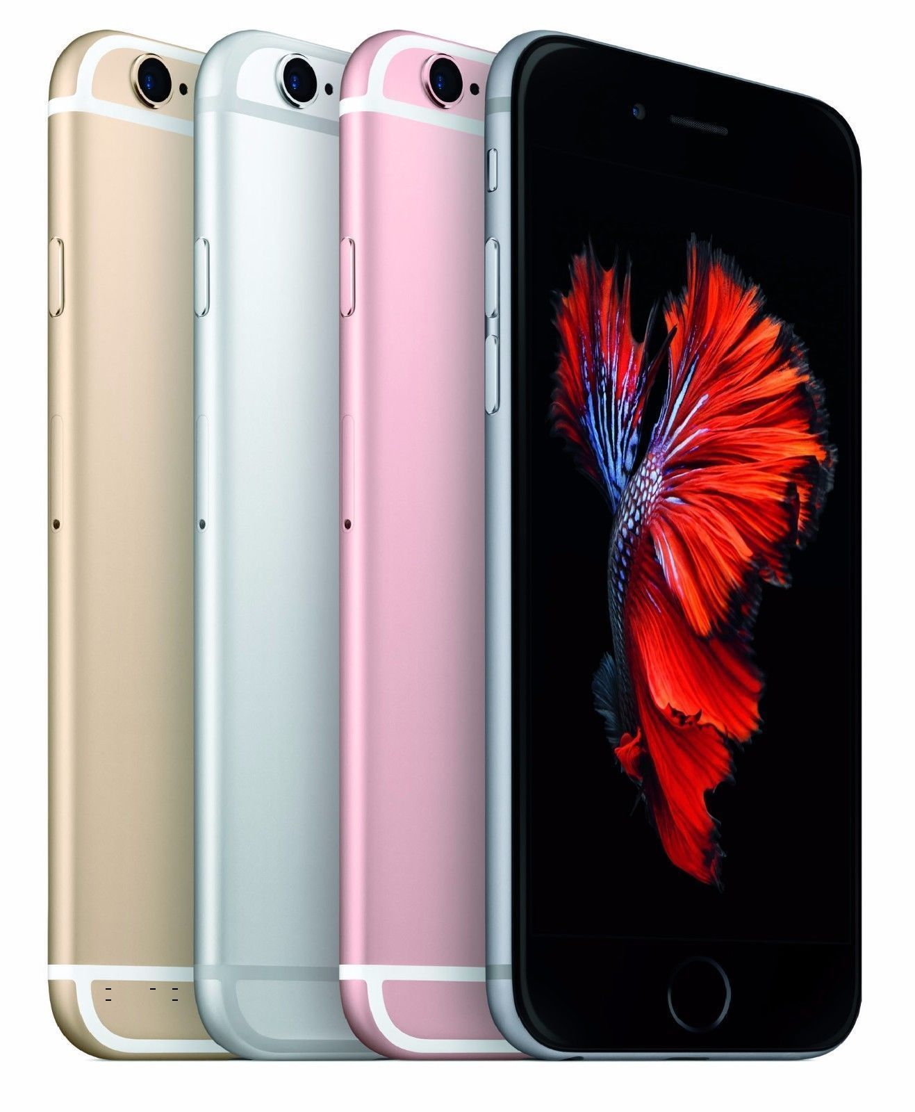 Apple iPhone 6S Factory Unlocked Gray Silver Gold No Finger Sensor