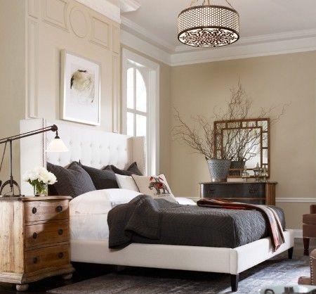 Metropolitan Wingback Upholstered King Platform Bed In 2021 Master Bedroom Lighting Master Bedroom Interior Design Master Bedroom Interior