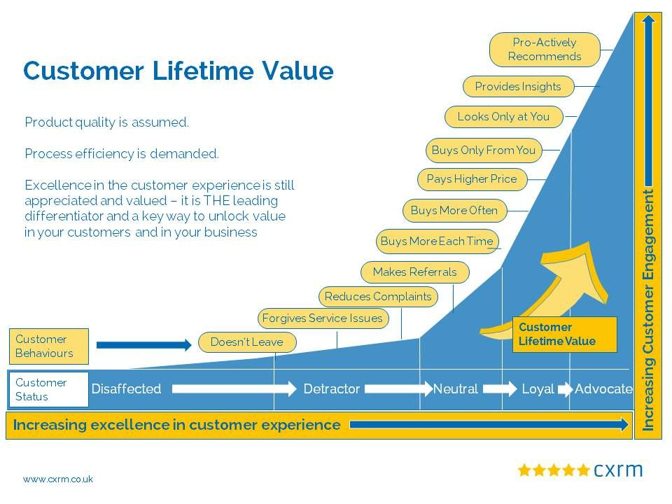 Maximising Customer Lifetime Value By Improving The Customer Experience Customer Lifetime Value Communication Techniques Customer Experience