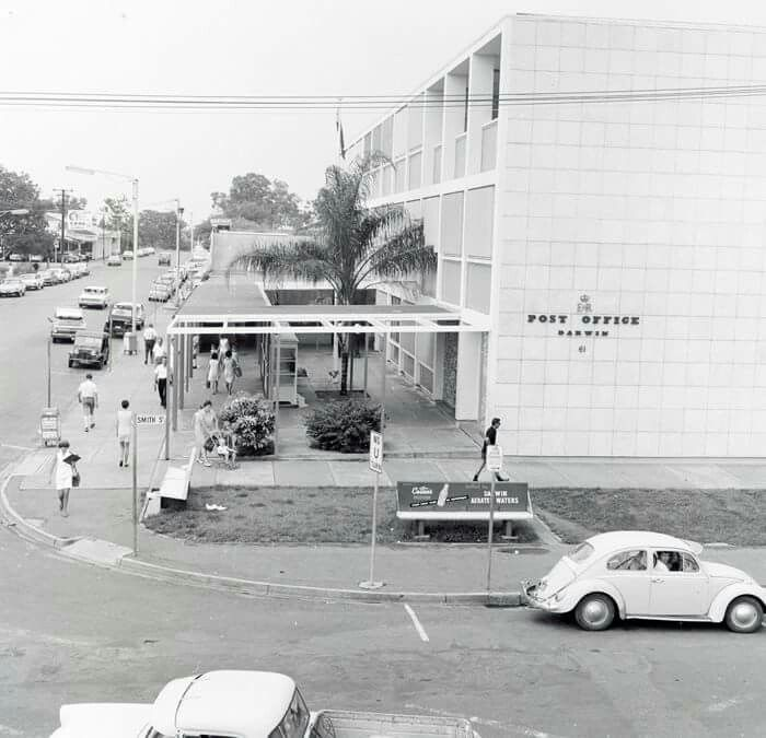 Aerial View Over Diamond Beach Casino, Darwin Hospital To
