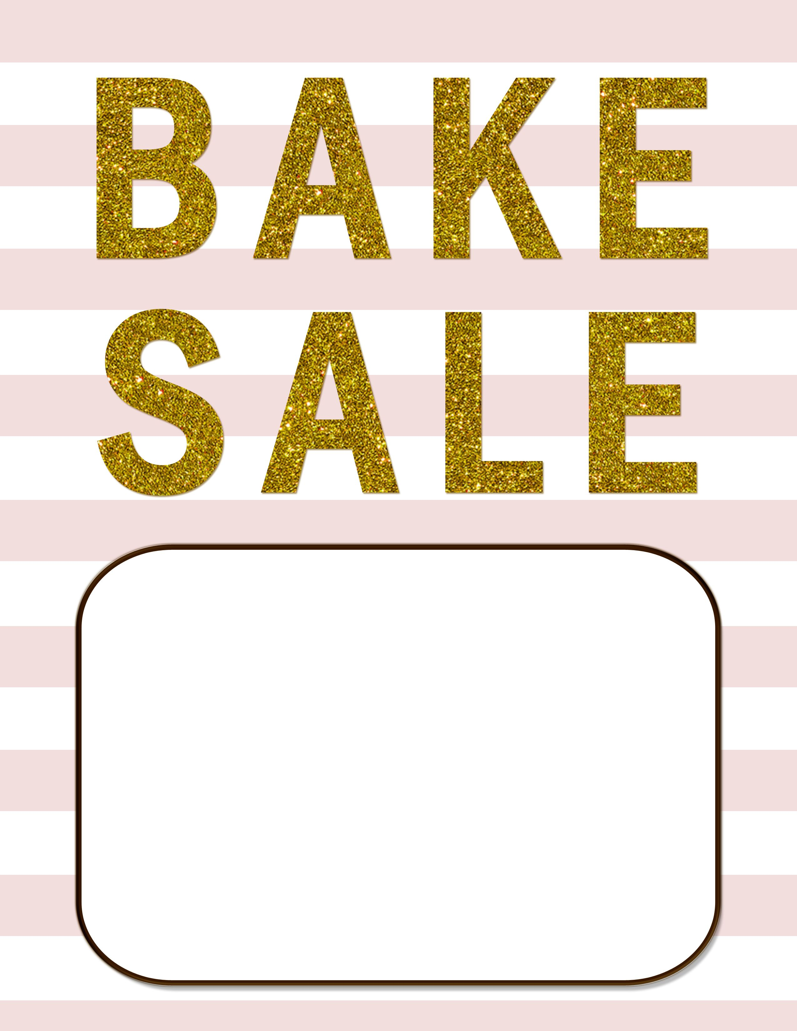bake sale flyers free flyer designs - 736×952