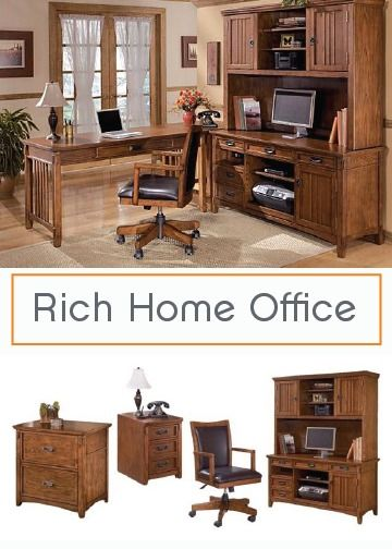 Home Office Desks and Storage