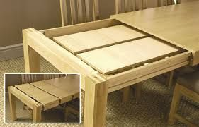 Image result for expandable dining table plans