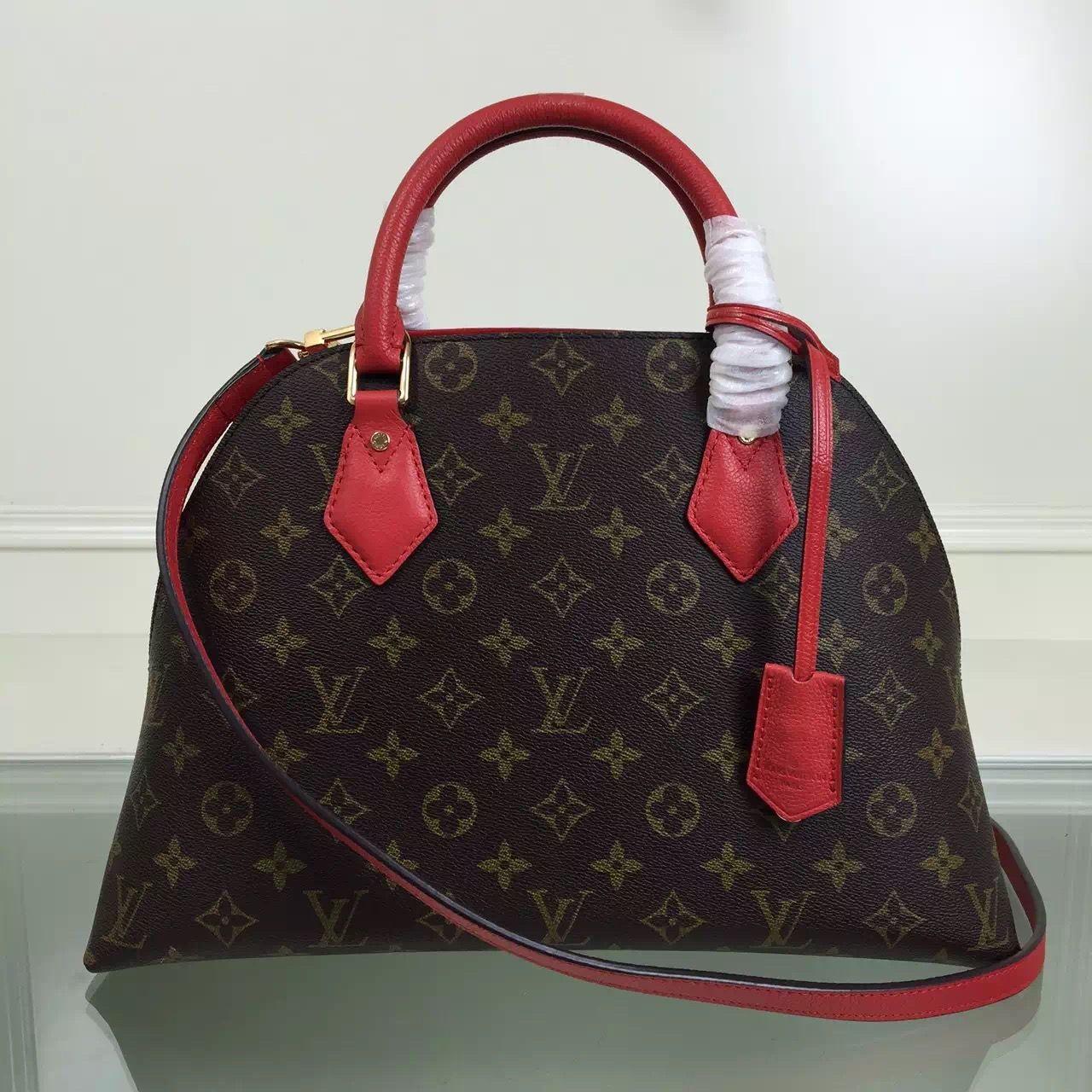 77cf3e510738 Louis Vuitton Alma B N B Bag M41779 Red