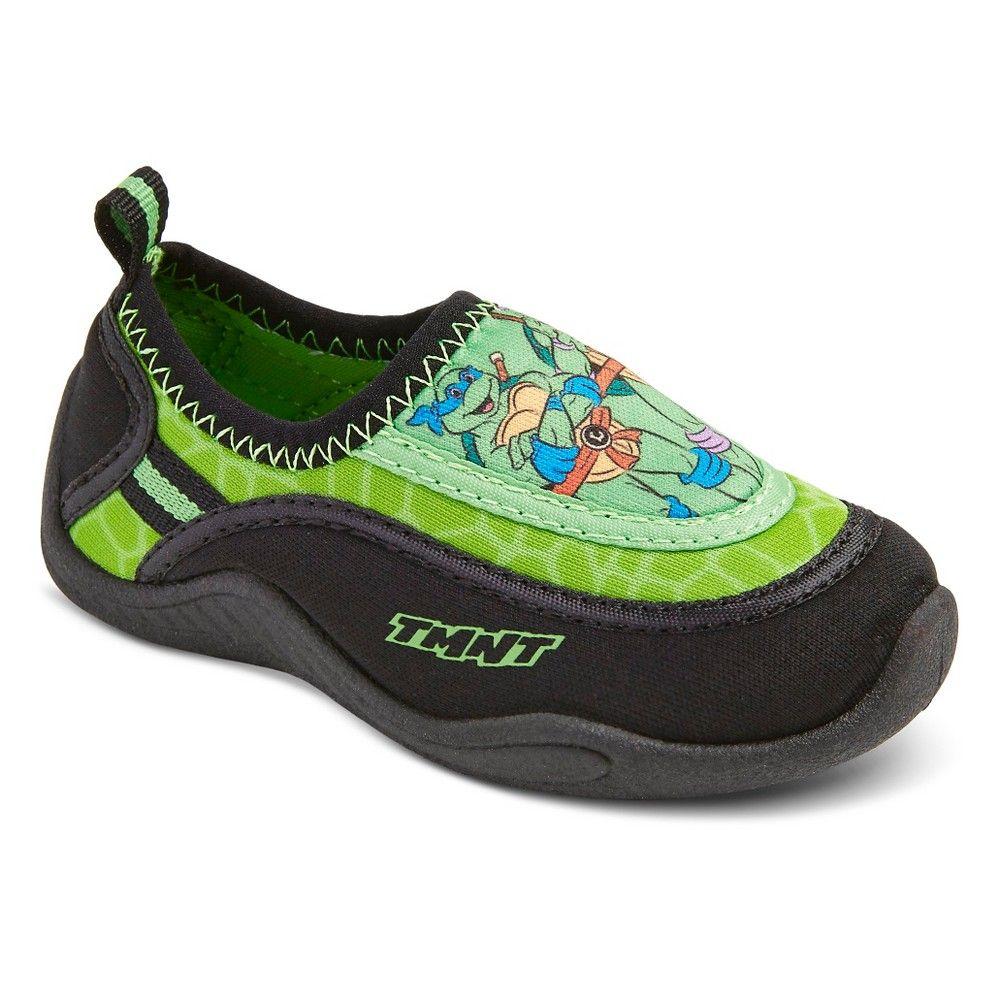 c541395bc224 Toddler Boys  Teenage Mutant Ninja Turtles Water Shoes - Green L ...