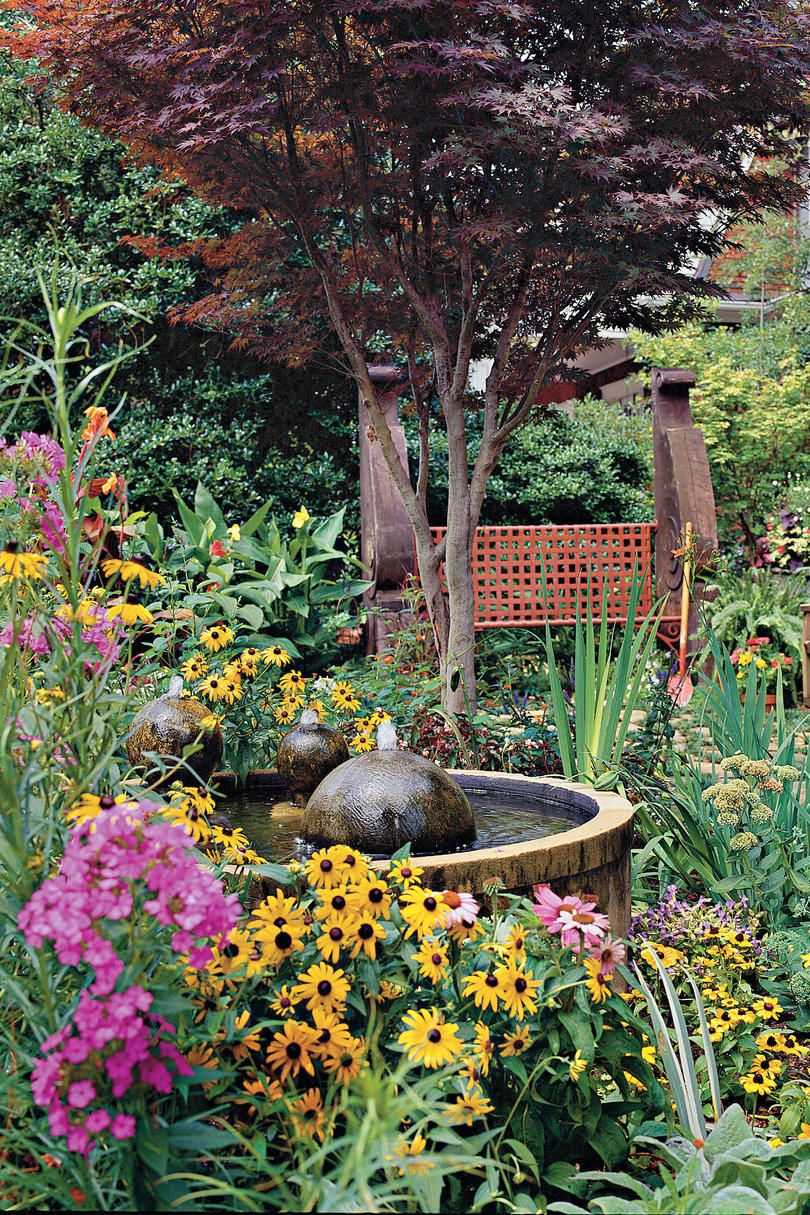 Small courtyard garden inspiration  Classic Courtyards  Yards Gardens and Exotic plants