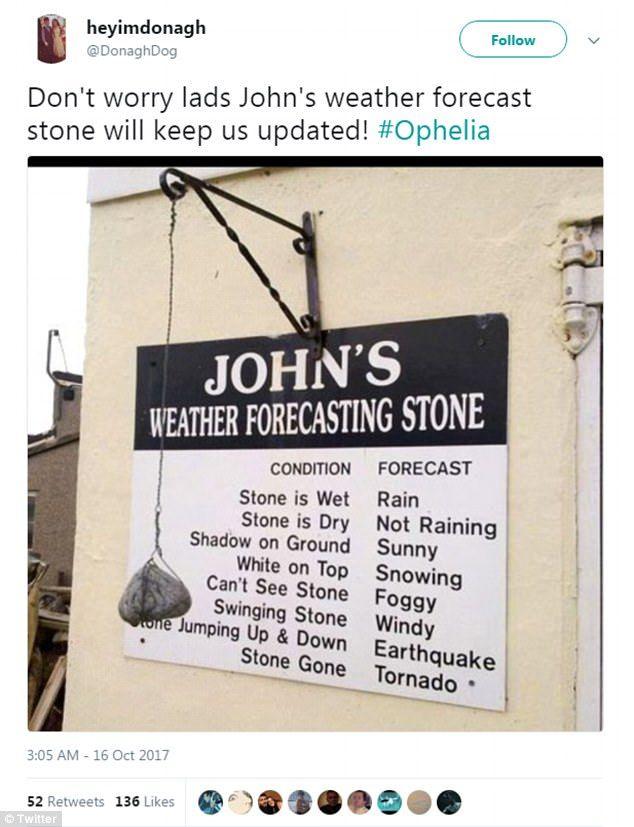 Social Media Whips Up Storm Of Memes And Jokes Over Hurricane Ophelia Jokes Social Media Memes