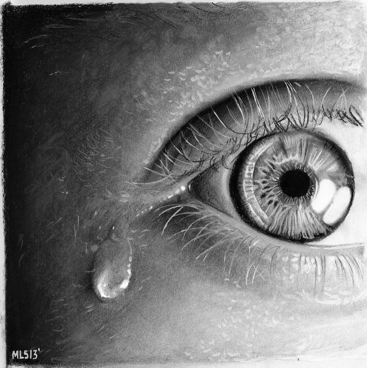 Hyper Realistic Pencil Drawings | Hyper-realistic drawings of eyes