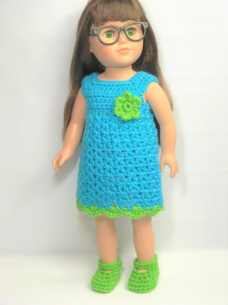 Free Crochet 18 Doll Beanie Pattern - Adoring Doll Clothes